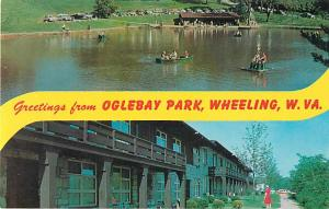 Greetings from Oglebay Park, Wheeling, West Virginia, WV