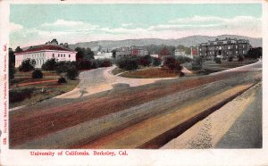 University of California, Berkeley, California, Early Postcard, Used in 1908