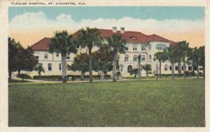 ST AUGUSTINE, Florida, 1920s; Flagler Hospital