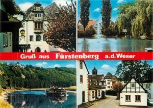 Germany Gruss aus Furstenberg a.d. Weser