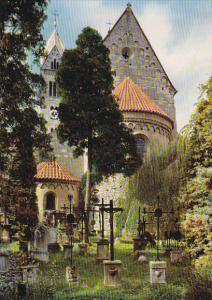 Germany Straubing an der Donau St Peter Ansicht von Osten