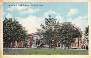 Cincinnati Ohio 1920-30s Postcard Westwood Public School