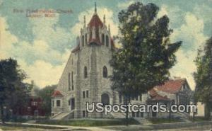 First Presbyterian Church Lapeer MI 1915
