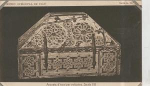 Postal 010236: Vich: museo episcopal: Arqueta d´Ivori per reliquies