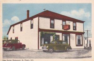 ST PETERS , Nova Scotia , Canada , 1930-40s ; Cosy Corner Restaurant, Classic...