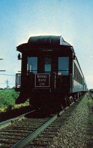 Trains - Lake Shore Railway, Ex Pullman Observation Car (audio visual series)