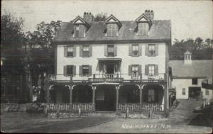 Newmarket NH Hotel Willey c1910 Postcard
