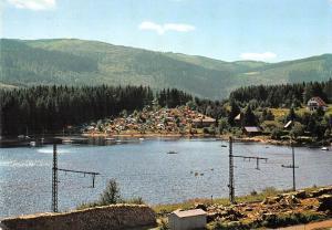 GG14280 Schluchsee im Schwarzwald Blick zum Camping See Lake Panorama