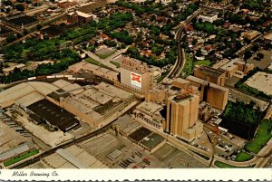 Wisconsin Milwaukee Aerial View Miller Brewing Company