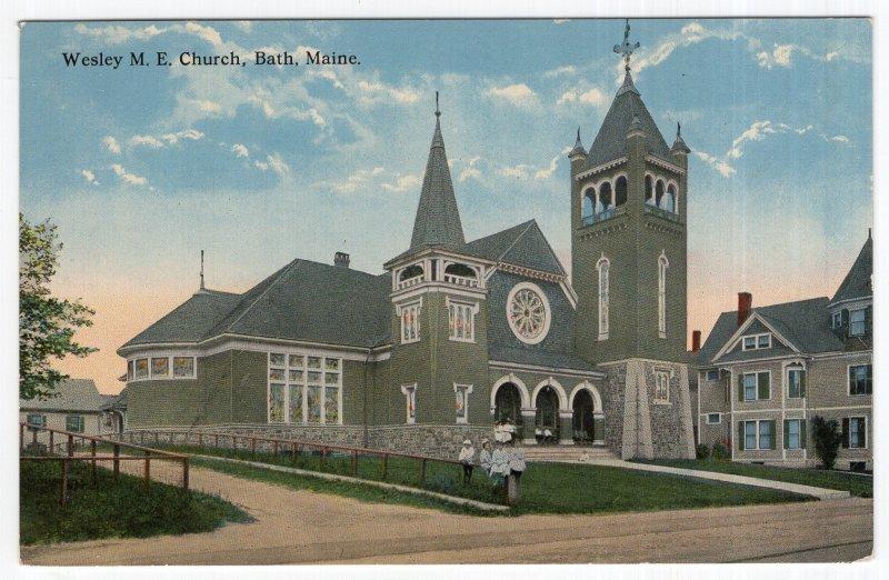 Bath, Maine, Wesley M. E. Church