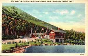 New York Adirondacks Toll HOuse On Whiteface Mountain Highway Curteich