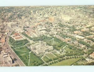 Unused Pre-1980 AERIAL VIEW Winnipeg MANITOBA hs8121