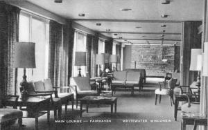 Wisconsin  Whitewater   Fairhaven Hotel  Lounge