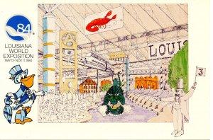 Louisiana World Exposition, 1984 - Louisiana Exhibition Center