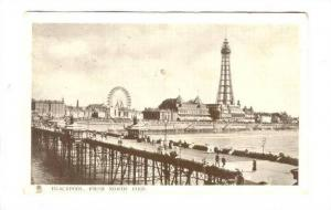 BLACKPOOL, from North Pier, TUCK'S 5530, Lancashire, England, United Kingdom,...
