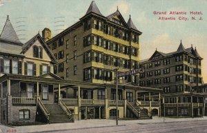 ATLANTIC CITY, New Jersey, PU-1912; Grand Atlantic Hotel