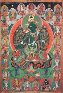 Mongolia Syama Tara Buddhism Art Museum Ulan Bator postcard