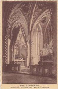 France Abbaye d'Hautecombe Le Sanctuaire et le Tombeau d'Aymon le Pacifique