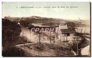 Old Postcard Mont Cassel Peri Vue Generale du Mont des Recollets