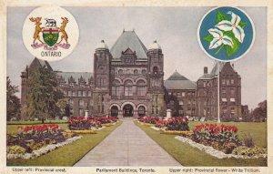 TORONTO , Ontario , 00-10s ; Parliament Buildings , with seals