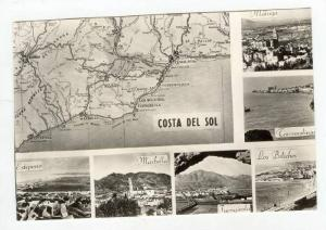 RP, 7 Views, Colleccion-Mapas De Bolsillo, Costa Del Sol, Spain, 1910-1930s