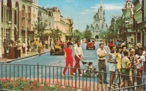 Main Street Walt Disney World Orlando Florida