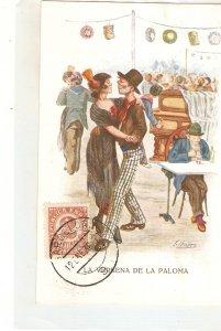 ·J. IBAÑEZ..Madrid. La Verbena de la Paloma dance Vintage Spanish postcard