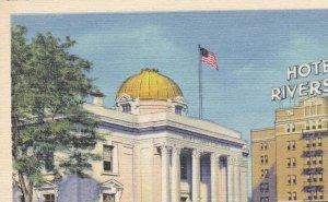 Washoe County Court House and Hotel Riverside Reno Nevada
