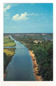 This beautiful canal is part of the intra coastal waterway and connects Rehob...