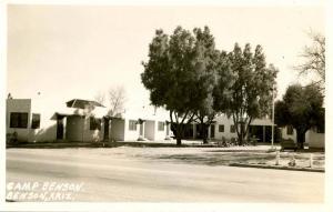 AZ - Benson. Camp Benson - RPPC