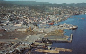 NANAIMO , B.C. , Canada , 50-60s ; Aerial View