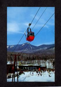 NH Loon Mtn Mountain Ski Skiing Gondola Mt Osseo Lincoln New Hampshire Postcard