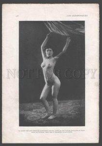 092768 ART NOUVEAU FRENCH NUDE RISQUE GIR & MAN #108-109