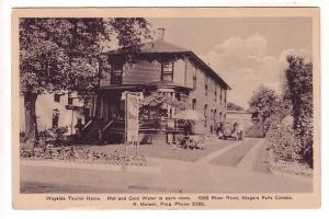 Wayside Tourist Home, River Road, Niagara Falls, Ontario, B&W R Melesh Prop