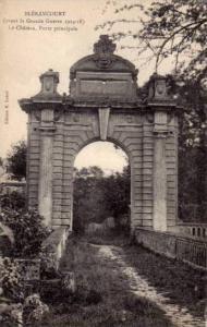 Le Chateau- Porte Principale, Blerancourt (Aisne) Apres La Guerre 1914-1918, ...