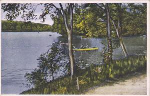 France Lyon Parc de la Tete d'Or Le Lac