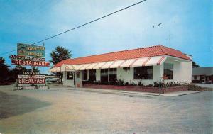 Allendale South Carolina Lobster House Street View Vintage Postcard K39238