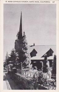 St. Rose Catholic Church, Santa Rosa, California, 1910-1920s