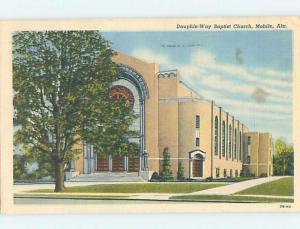 Linen CHURCH SCENE Mobile Alabama AL A9459