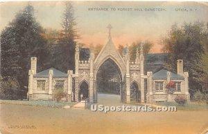 Forest Hill Cemetery - Utica, New York