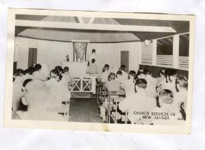 RP, Interior- Church Services, New Guinea, 1920-1940s
