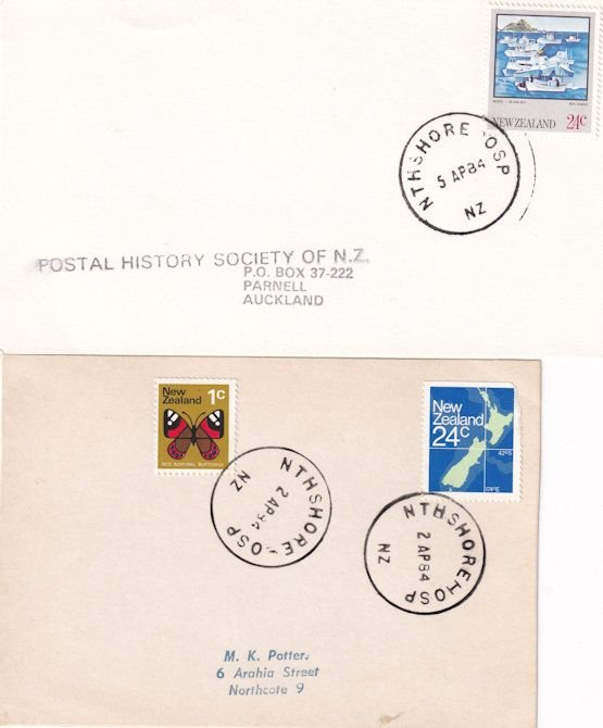 North Shore Auckland New Zealand 2x Cover s