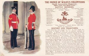 ENGLAND, 00-10s; The Prince Of Wales's Volunteers, History And Traditions