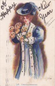 RP: Female Portrait , PU-1906 ;  #113
