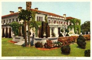 California San Marino The Henry E Huntington Library & Art Gallery