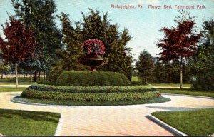 Pennsylvania Philadelphia Fairmount Park Flower Bed
