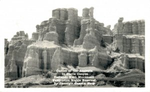 USA - Castles of the Ancients in Castle Canyon RPPC 03.05