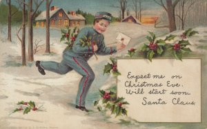 CHRISTMAS , 1907 ; Messenger Boy