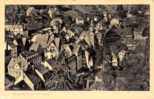 Monschau in der Eifel Gesamtansicht Panorama