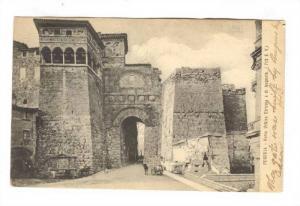Porta Urbica Etrusca O Di Augusto (713 E. V.), Perugia (Umbria), Italy, PU-1907